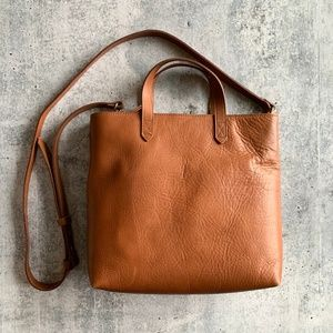 Madewell New Small The Zip Top Transport Tote